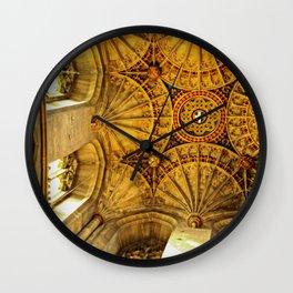 Looking to Heaven: A Fan Ceiling Wall Clock