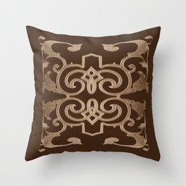 J'aime le chocolat, I love chocolate Throw Pillow