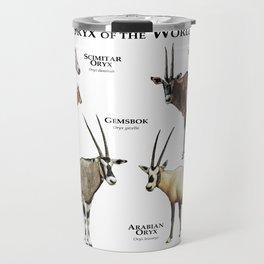 Oryx of the World Travel Mug
