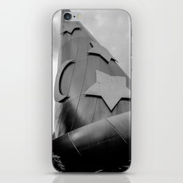 B+W: Sorcerer's Hat (Hollywood Studios) iPhone Skin