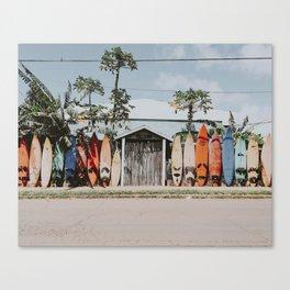 lets surf vi / maui, hawaii Canvas Print