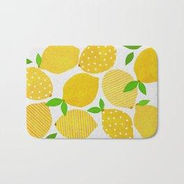 Lemon Crowd Bath Mat