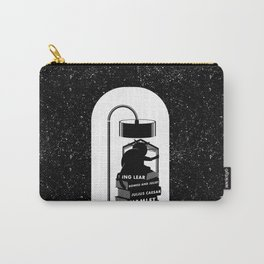 CAT READING SHAKESPEARE Carry-All Pouch