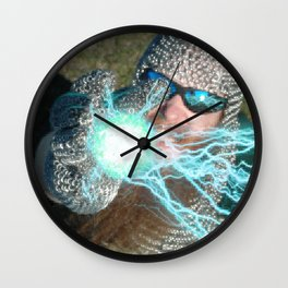 LET'S PLAY CHAINBALL! Wall Clock