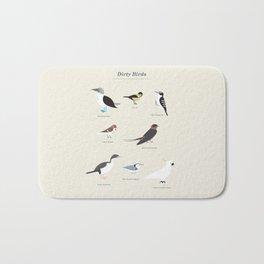 Dirty Birds Bath Mat