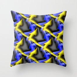 Colorandblack serie 47 Throw Pillow