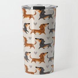 Dachshund Pups Travel Mug