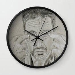 Al Pacino Wall Clock