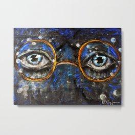 Gatsby Eyes Metal Print