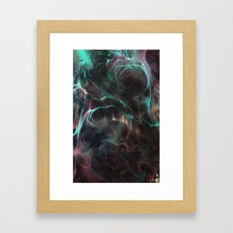 Star Eater Section iii Framed Art Print