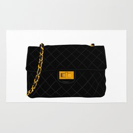 The quilted bag Rug