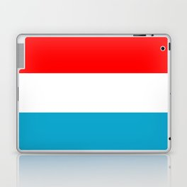 luxembourg country flag Laptop & iPad Skin