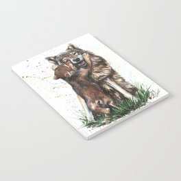 Wolf - Father and Son Notebook