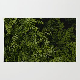Small leaves Rug