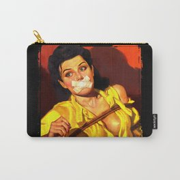 Gagged Carry-All Pouch