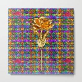"""Rose Facination"" Metal Print"