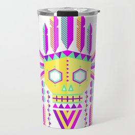 Geometric Tribe Travel Mug