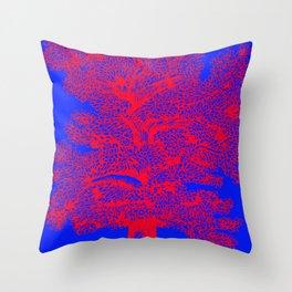 Castanea Sativa, chestnut Throw Pillow