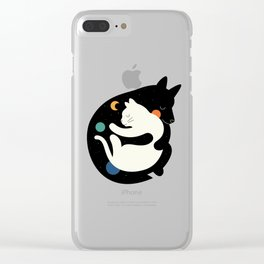More Hugs Less Fights Clear iPhone Case