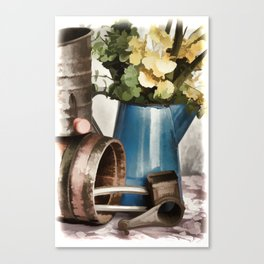 Rustic Kitchen Canvas Print