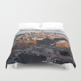 Empire Cityscape Duvet Cover