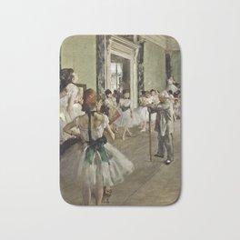 Edgar Degas - The Ballet Class Bath Mat