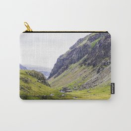 Green Irish Valley Carry-All Pouch