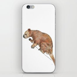 Indecisive Tree Kangaroo iPhone Skin