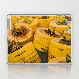Yellow gathering Laptop & iPad Skin