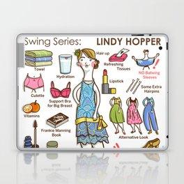 SWING SERIES: LINDY HOPPER (female) Laptop & iPad Skin