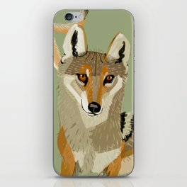 Totem Indian Wolf iPhone Skin