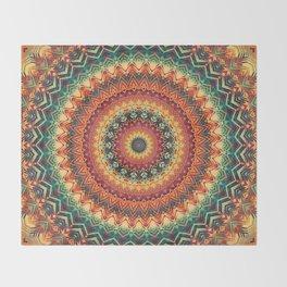 Mandala 254 Throw Blanket