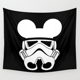 Stormtrooper with Ears  Wall Tapestry