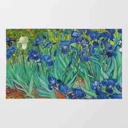 Irises by Vincent van Gogh (May 1889) Rug