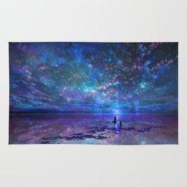 Ocean, Stars, Sky, and You Rug