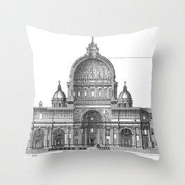 St. Peter Basilica - Rome, Italy Throw Pillow