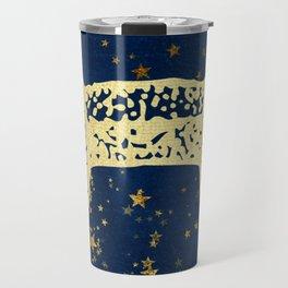 Pisces Zodiac Sign Travel Mug