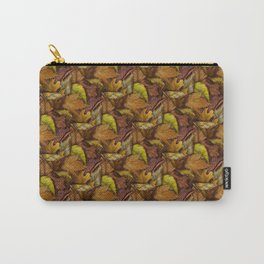 Painted Autumn Leaves Carry-All Pouch