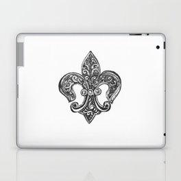 Fleur de Lis Laptop & iPad Skin