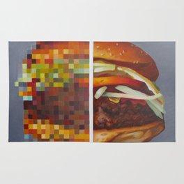 Hambuger food porn #1 Rug