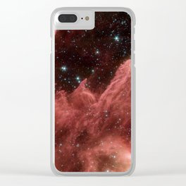 cassiopeia and the raging towers of poseidon | space #06 Clear iPhone Case