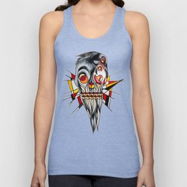 Old man Unisex Tank Top