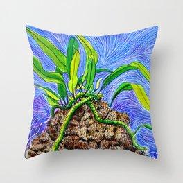 Ferny Throw Pillow