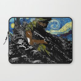The Silent Soldier Laptop Sleeve
