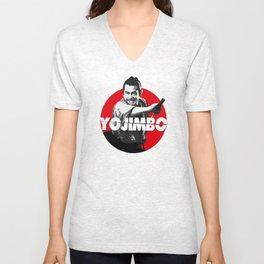 Yojimbo - Toshiro Mifune Unisex V-Neck