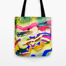 fluently Tote Bag