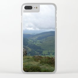 Wales Landscape 17 Cader Idris Clear iPhone Case