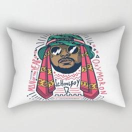 SchoolboyQ Rectangular Pillow
