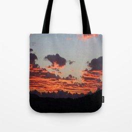 Aegean Sunset Tote Bag