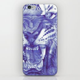 Roaring Tiger iPhone Skin